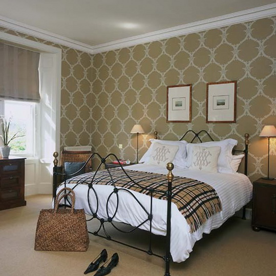 Wallpaper for bedroom ideas - large and beautiful photos. Photo to ...