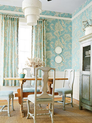 wallpaper for dining room photo - 1