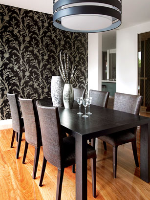 wallpaper for dining room photo - 2