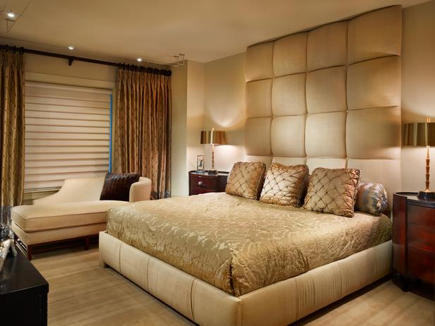 warm color schemes for bedrooms photo - 1