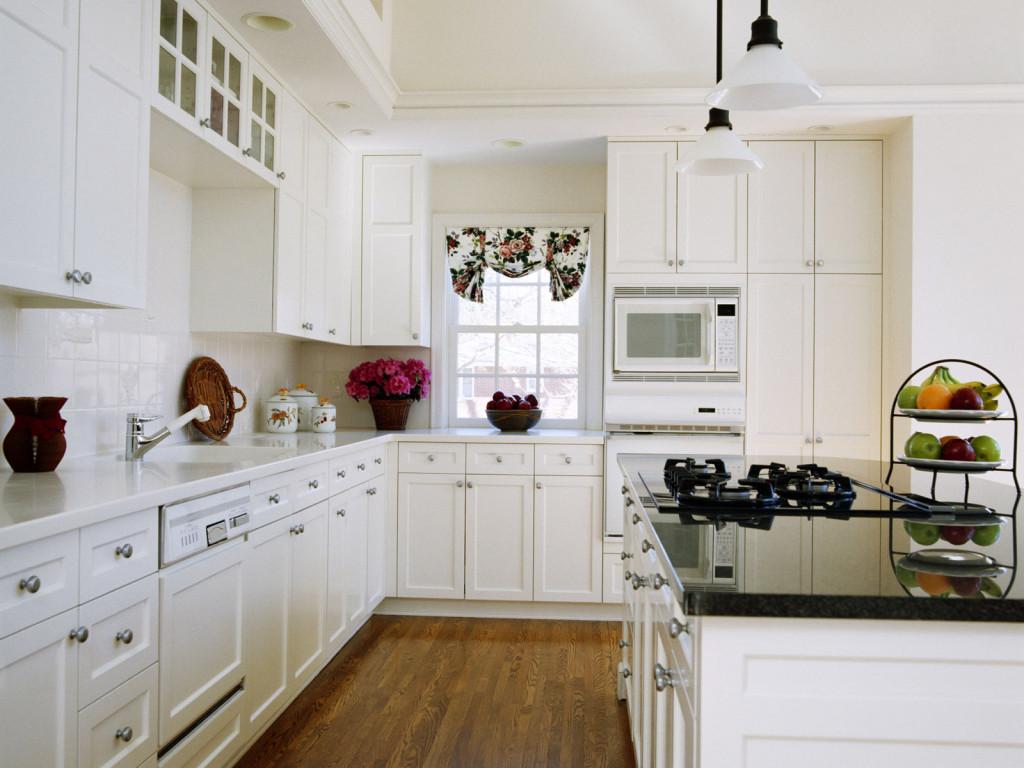 white small kitchen photo - 1