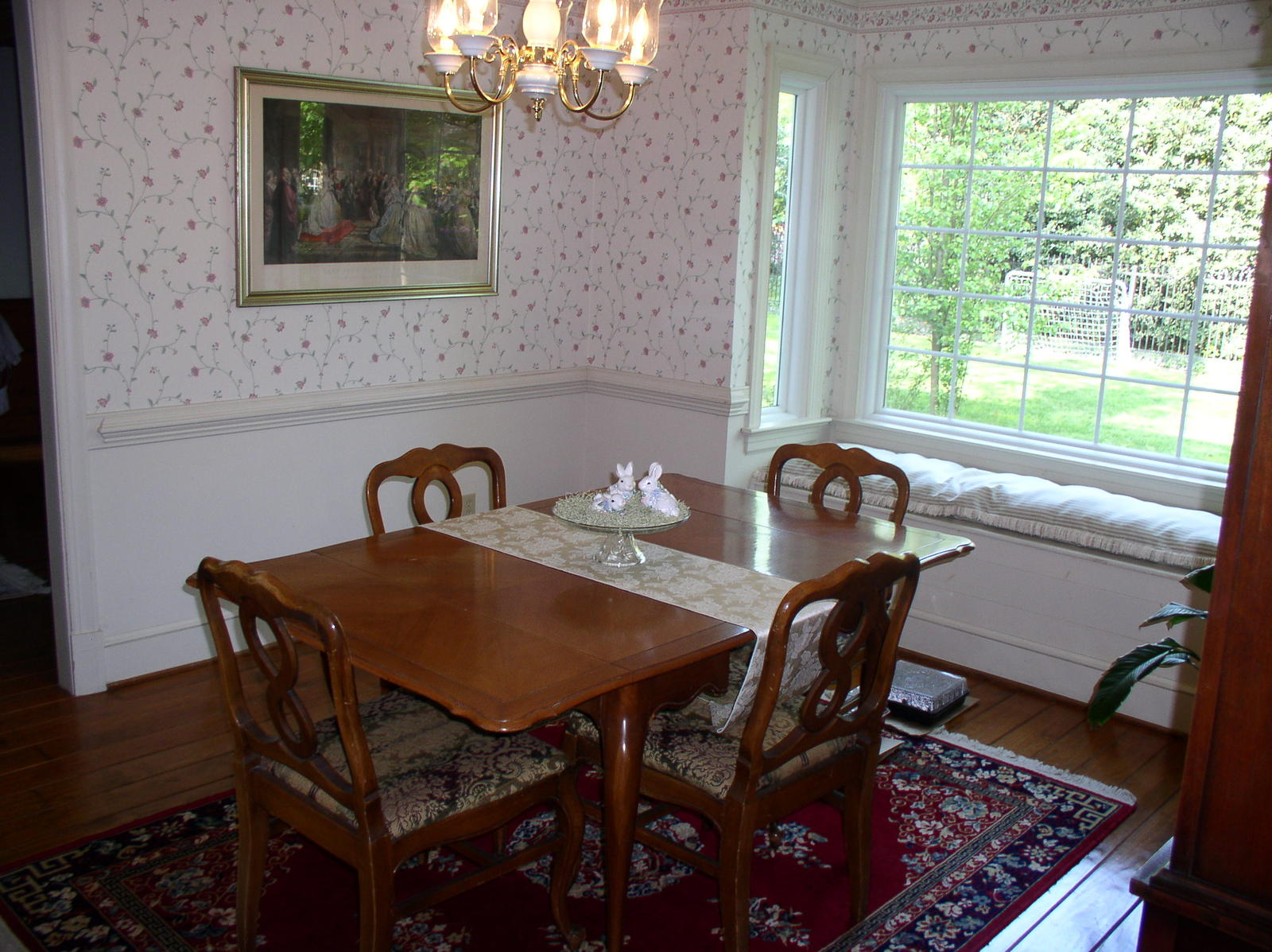 window treatments dining room photo - 2