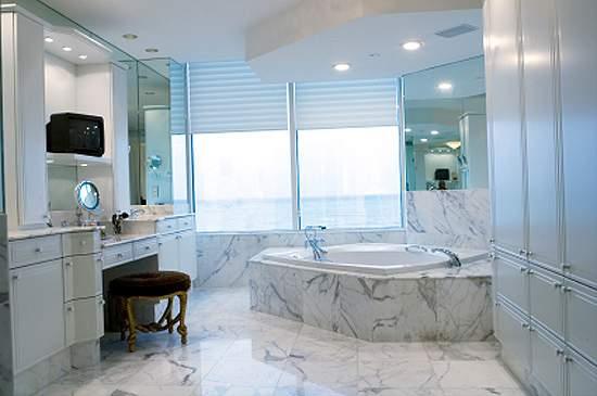 window treatments for bathroom photo - 1