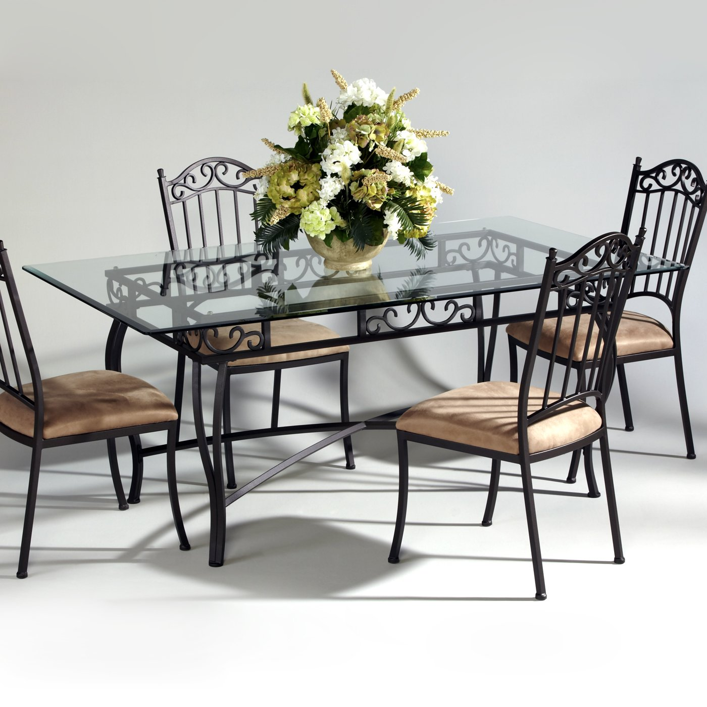 Wrought Iron Dining Room Chairs Photo