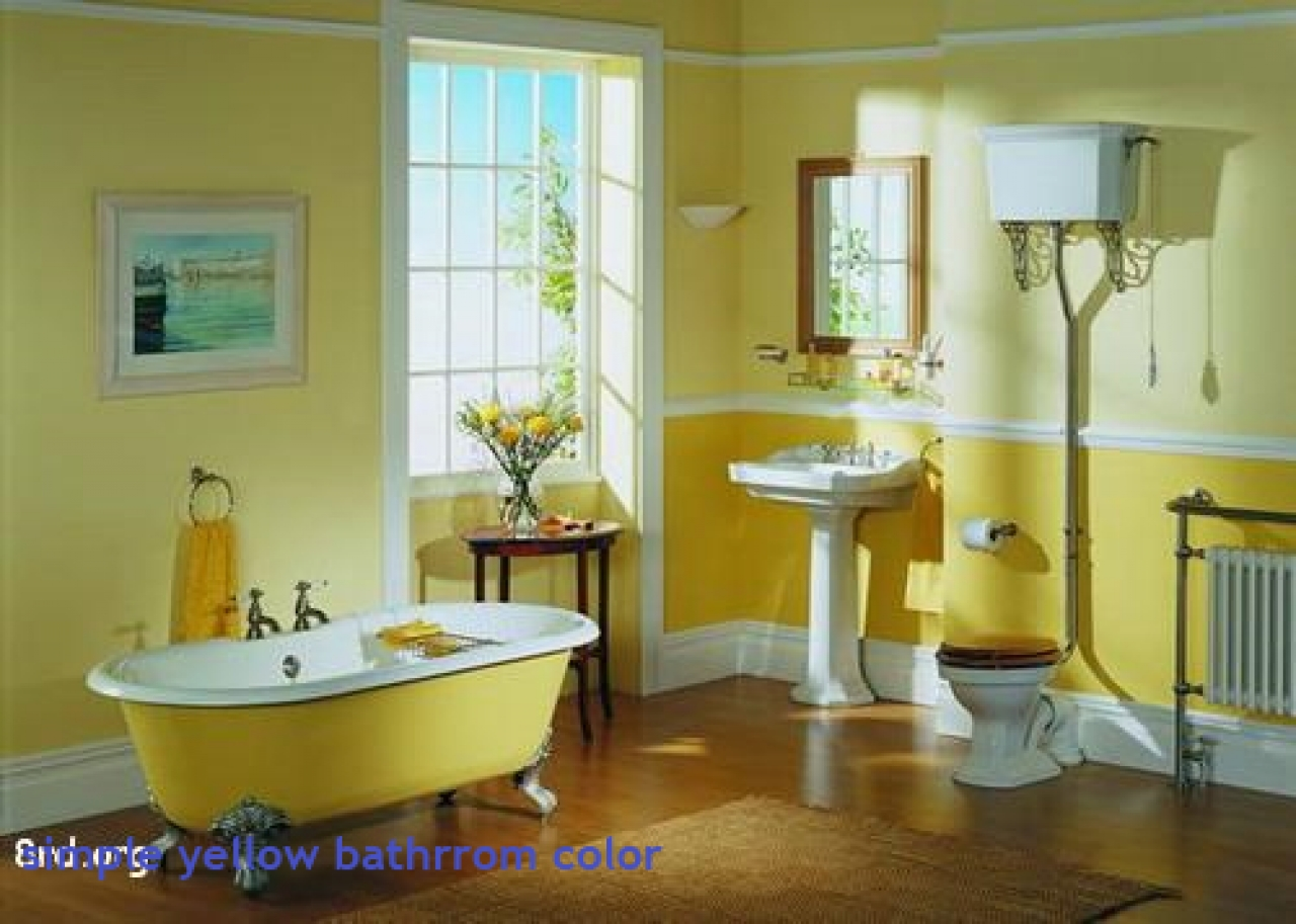 Superbe Yellow Bathroom Decor